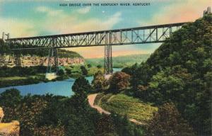Postcard High Bridge Kentucky Not Posted