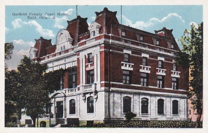 Oklahoma Enid Garfield County Court House