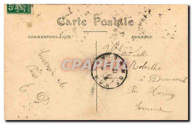 Old Postcard Paris Le Pont de la Concorde