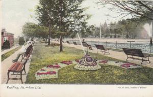 READING, Pennsylvania, PU-1909; Sun Dial