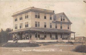 Hotel Phoenix Passadumreag ME 1917 Missing Stamp