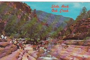 Arizona Oak Creek Canyon Slide Rock 1969