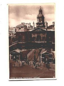Real Photo, Horse Guards Whitehall London, England,