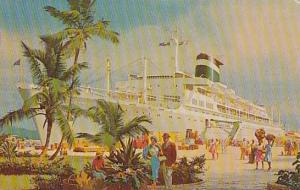 Grace Line, Steamer, Santa Rosa, Santa Paula, 1940-1960s