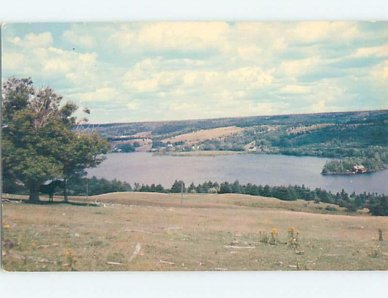 bent corner Pre-1980 LAKE ON NUMBER 7 HIGHWAY Antigonish Nova Scotia NS F3895