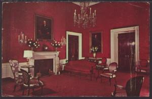 Red Room,White House,Washington,DC Postcard BIN