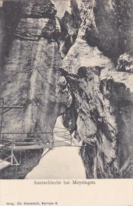 Aareschlucht Bei MEYRINGEN (Berne), Switzerland, 1900-1910s
