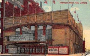 Chicago Illinois American Music Hall Vintage Postcard AA44175