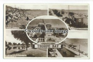 tq1947 - Essex - Multiview x 5, of Various View around Thorpe Bay - Postcard