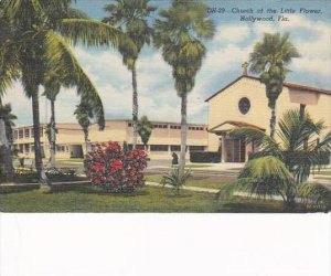 Florida Hollywood Church Of The Little Flower 1955
