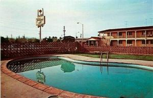 CA, Palo Alto, California, Palo Alto Travel Lodge, Pool, Dexter Press No. 47205C