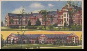 Michigan East Lansing Abbott Hall And Mason Hall Michigan State College Alber...
