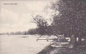 Michigan Scene at Cass Lake