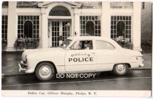 RPPC, Police Car, Officer Murphy, Phelps NY