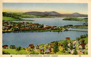 VT - Newport. Lake Memphremagog