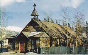 The Old Log Church, Whitehorse, Yukon Territory, Yukon, Canada, 1940-1960s