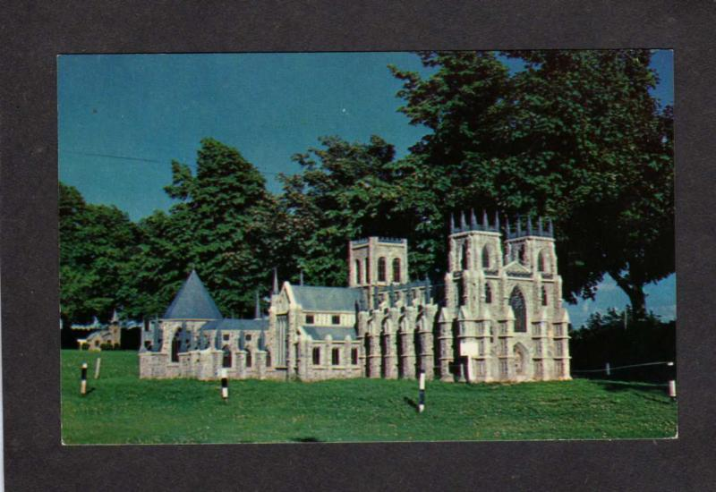 PEI Model York Minster Woodleigh Replicas Kensington Prince Edward Island Canada