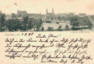Germany - Ingolstadt den 1898 03.27