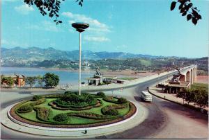 Chongqing Yangtze River Bridge China Unused Vintage Postcard F6