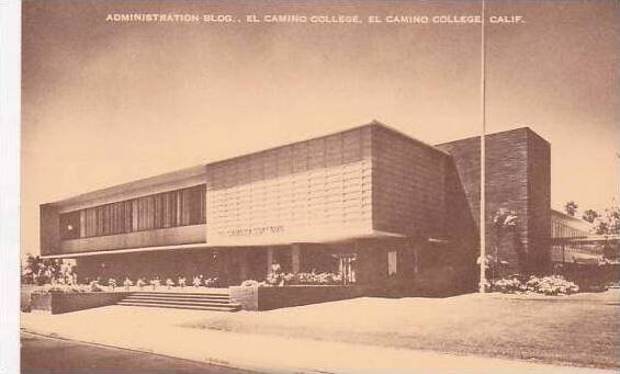 Califorinia El Camino Administration Bldg. El Camino College Artvue