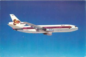Thai Air Lines DC-10-30 Plane Smooth as silk