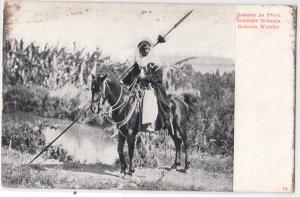 Reduine zu Pferd. Guerrier Bedouin. Bedouin Warrior