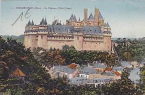 France Pierrefonds Le Chateau Cote Ouest