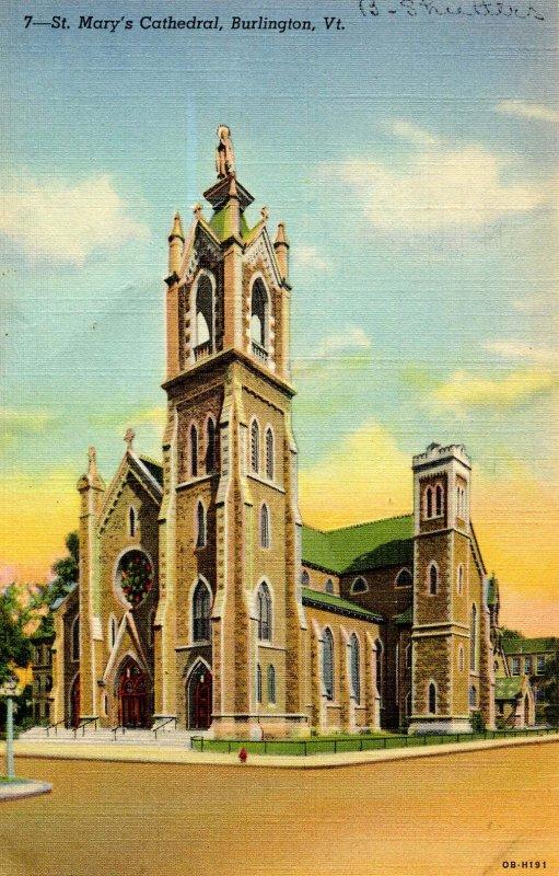 VT - Burlington. St Mary's Cathedral