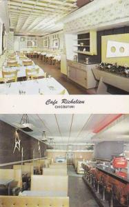 Cafe Richelieu , CHICOUTIMI , Quebec , Canada  , 50-60s