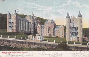 Exterior,  Royal Victoria Hospital,  Montreal,  Quebec,  Canada,   PU_1905