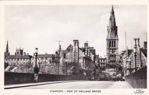 RP: Stamford , Lincolnshire , England , 30-40s ; View of Welland Bridge
