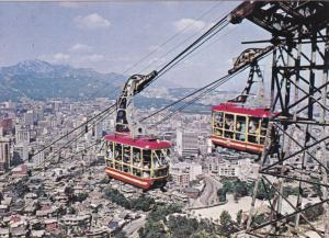 Cable-Car, Namsan Park, SEOUL, South Korea, 50-70's
