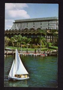 FL Polynesian Village, Disney World, Amusement Park, ORLANDO FLORIDA Postcard