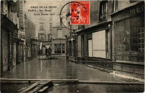 CPA PARIS Crue de la Seine 1910 Rue Mazet (579927)