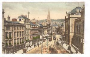 Aerial View, Bath, Main Street and Municipal Building, Somerset, England, Uni...