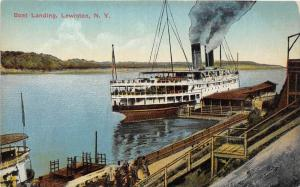 New York  Lewiston Steamer at  Boat Landing 10983