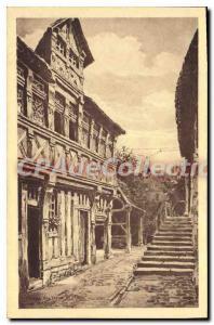Postcard Old Honfleur Musee Du Vieux Honfleur Le Manoir