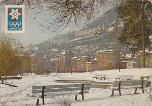 France Grenoble Parc de Ille Verte et Batiments Universitaires de Rabot 1968