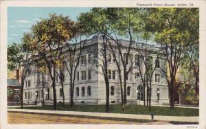 Illinois Pekin Tazewell Court House Curteich