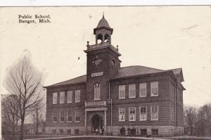 BANGOR, Michigan, PU-1910 ; Public School