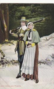 John Alden and Priscilla