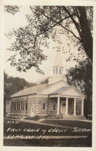 RP: ELMHURST, Illinois, 1930-40s; First Church of Christ Scientist