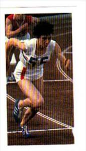 Brooke Bond Trade Card Olympic Greats No 6 Ann Packer Great Britain