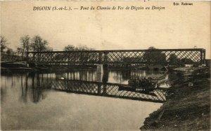 CPA Digoin Pont du Chemin de Fer FRANCE (952849)