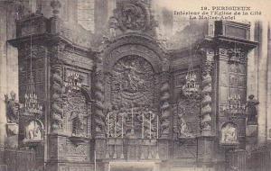Interieur De l'Eglise De La Cite, Le Maitre-Autel, Perigueux (Dordogne), Fran...