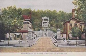 Arkansas Hot Springs Grand Entrance To Hot Springs Reservation