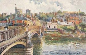TUCK 7939; ENGLAND, 1900-10s; Windsor Bridge & Castle