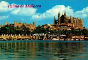 CPA Espagne-Mallorca-Palma de Mallorca-La Cathedral et La Lonja (323249)