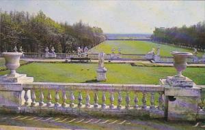 Russia Leningrad Arkhangelskoe Les Terrasses et le parterre du parc