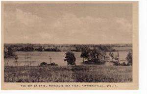 PAPINEAUVILLE, Quebec, Canada, 1900-1910's; Pentecote Bay View